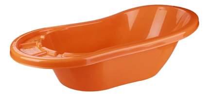 Ванночка пластиковая Альтернатива Карапуз оранжевый