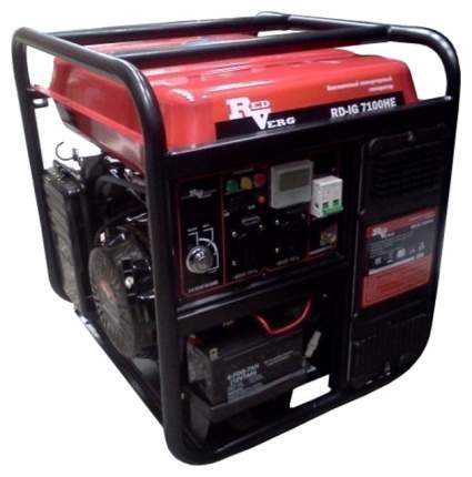 Бензиновый генератор  RedVerg RD-IG7100HE