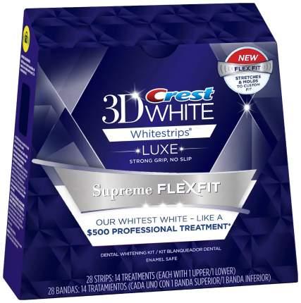 Пластина для отбеливания зубов Crest 3D White Whitestrips Luxe Supreme FlexFit 28 шт