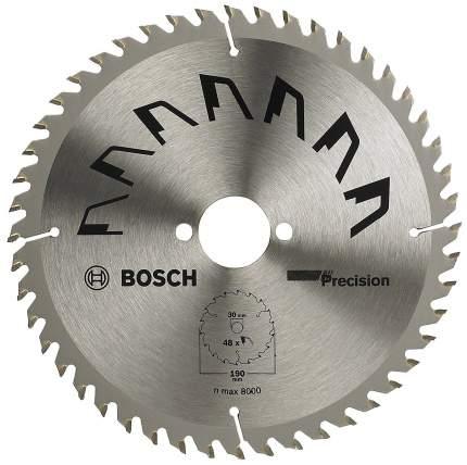 Диск по дереву Bosch 190x30 48 PRECISION 2609256870