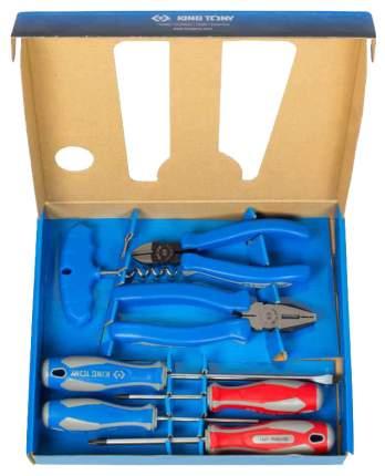 Набор шарнирно-губцевого инструмента KING TONY P90006MR01