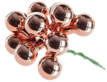 Гроздь стеклянных шаров Kaemingk на проволоке 25 мм