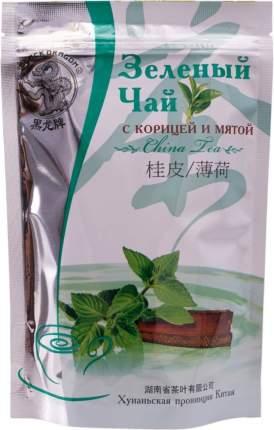 Чай зеленый Black Dragon с корицей и мятой 100 г