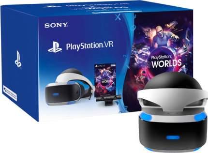 Шлем виртуальной реальности Sony PlayStation VR (CUH-ZVR2 ) + Игра VR WORLDS + Камера