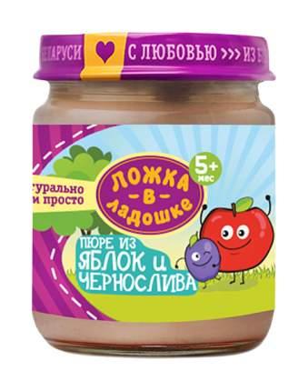 Пюре фруктовое Ложка в ладошке Из яблок и чернослива с 5 мес 100 гр
