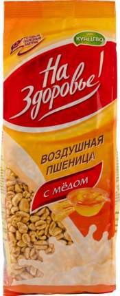 Готовый завтрак На Здоровье воздушная пшеница с медом 175 г