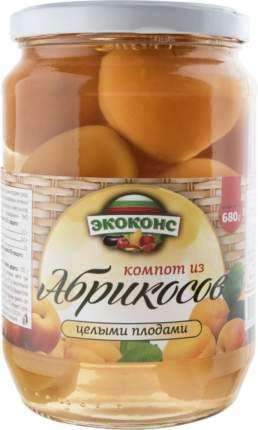 Компот Экоконс из абрикосов 680 г