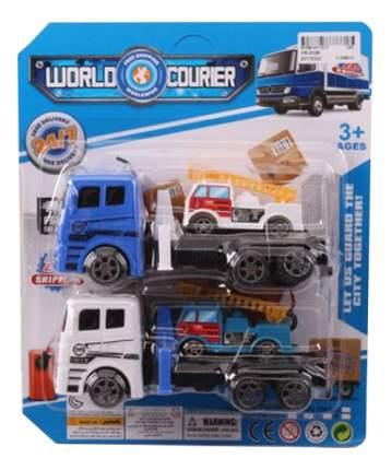 Набор из 2 игрушечных автовозов World Courier Gratwest В87071