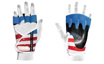 Перчатки для фитнеса Chiba Lady Motivation Glove, синие/белые/красные, XS