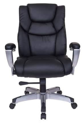 Кресло руководителя Бюрократ T-9999/BLACK, черный/серебро