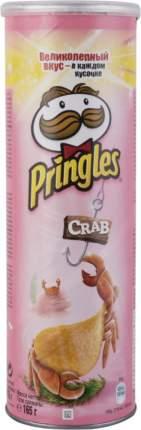 Картофельные чипсы Pringles со вкусом краба 165 г