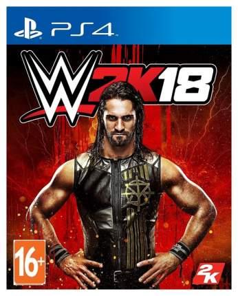 Игра 2K Sports WWE 2K18 для PlayStation 4