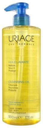 Очищающее пенящееся масло Uriage Huile Lavante для лица и тела, 500 мл