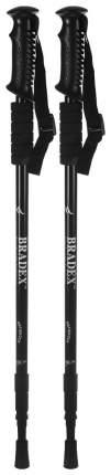 Палки для скандинавской ходьбы Bradex Нордик Стайл, черный, 65-135 см