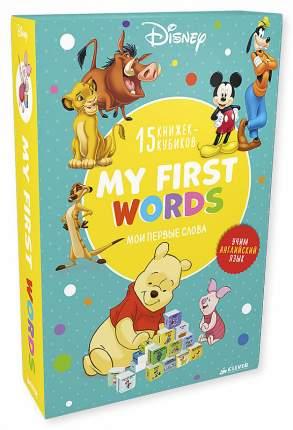 Мои первые Слова, My First Words, 15 Развивающих книжек-Кубиков