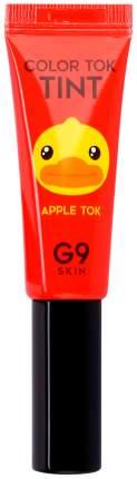 Тинт для губ G9SKIN Color Tok 02 Apple Tok 5 мл
