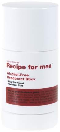 Дезодорант Recipe For Men Alcohol-Free Deodorant Stick 75 г