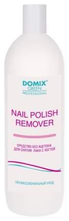 Средство для снятия лака Domix Green Professional с ногтей без ацетона, 1000 мл