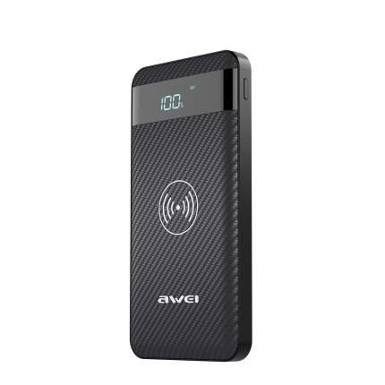 Внешний аккумулятор Awei P55K 10000 мА/ч Black