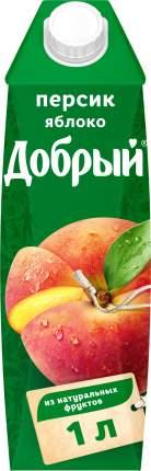 Нектар Добрый персик-яблоко 1 л