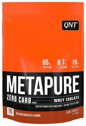 Протеин QNT Metapure Zero Carb 480 г Belgian Chocolate