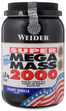 Гейнер Weider Mega Mass 2000 1500 г Creamy Vanilla