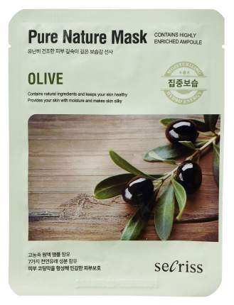 Маска для лица Anskin Secriss Pure Nature Mask Pack Olive 25 мл