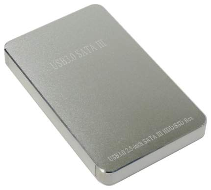 """Внешний карман (контейнер) для HDD Orient 2568 U3 2.5"""" USB 3.0 серебристый 30218"""