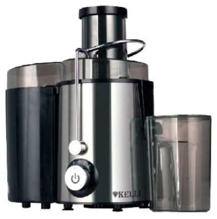 Соковыжималка центробежная KELLI KL-5090 silver/black