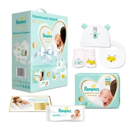 Подарочный набор Pampers Premium Care для новорожденных 1, 2-5 кг