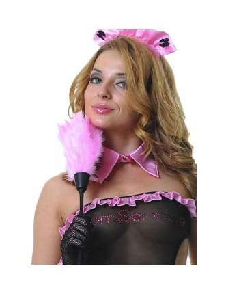 Щеточка горничной Le Frivole розовая 35 см