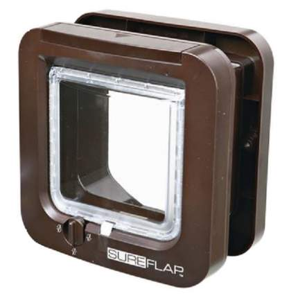 Дверца для кошек TRIXIE SureFlap, коричневая, 12х14,2см