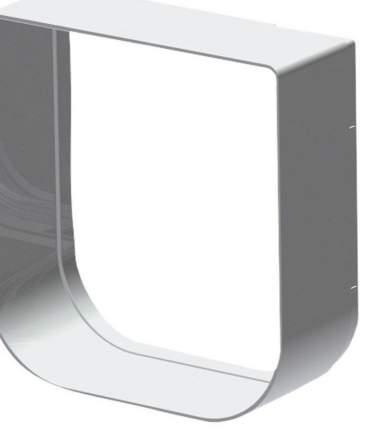 Туннель для животных Ferplast Swing 1, белый, 14,5х14,8см