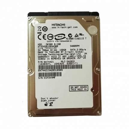 "Внутренний жесткий диск HGST NBook HDD 2.5"" 160Gb (HTS545016B9A300)"