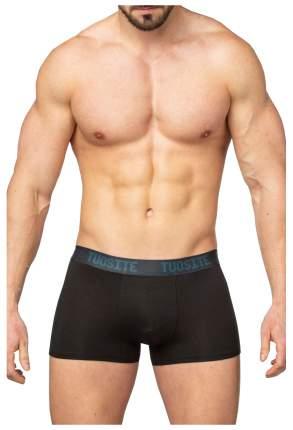 Однотонные мужские трусы-боксеры из модала, черные, M