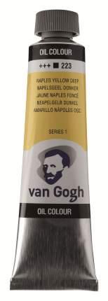 Краска масляная Van Gogh туба 40мл №223 Желтый неаполитанский насыщенный