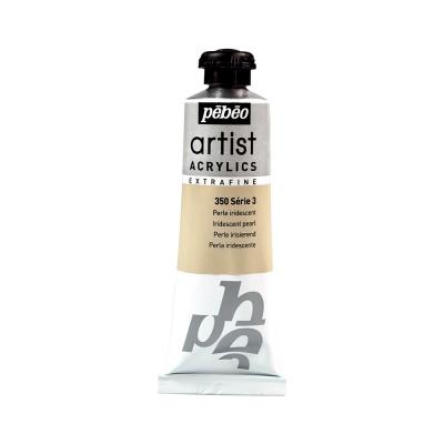 Акриловая краска Pebeo Artist Acrylics extra fine №3 металлик жемчужный 37 мл