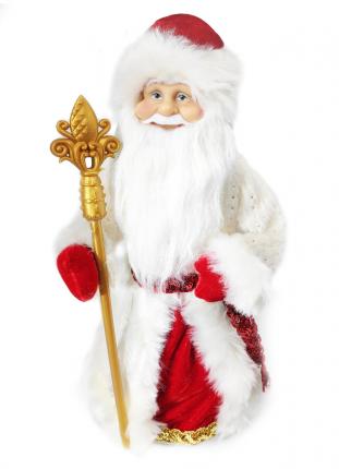 Дед Мороз под елку SaintNik конфетница (9147-12) 0,5 м