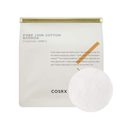 Хлопковые пады COSRX Pure 100% Cotton Rounds