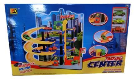 Игровой набор Паркинг центр с машинками, 4 уровня