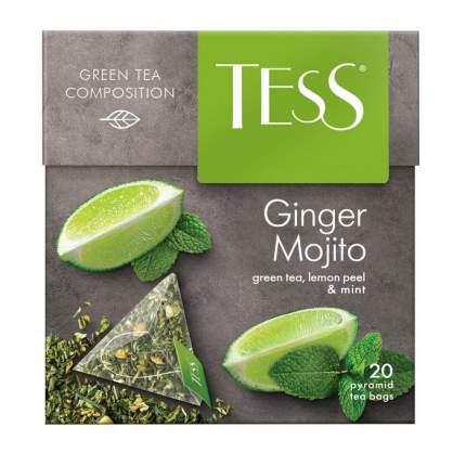Чай зеленый Tess ginger mojito 20 пакетиков