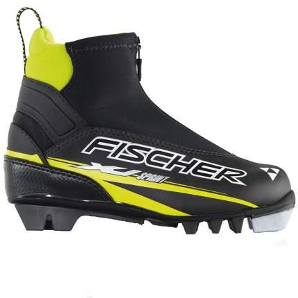 Ботинки для беговых лыж Fischer XJ Sprint NNN 2019, black/yellow, 26
