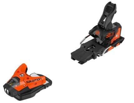 Горнолыжные крепления Salomon N STH2 WTR 13 2020, черные/оранжевые, 100 мм