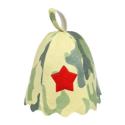 Шапка для бани и сауны Банные штучки Армейская