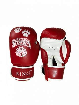 Боксерские перчатки VagroSport Ring RS912 красные 12 унций