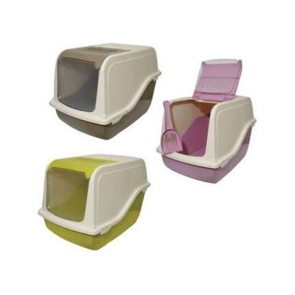 Туалет для кошек MP-Bergamo Ariel Top Free, прямоугольный, в ассортименте, 57х39х38 см