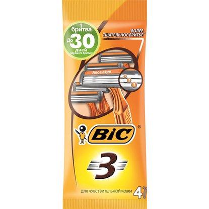 Станок для бритья BIC для чувствительной кожи 4 шт