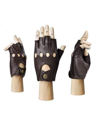 Перчатки мужские Eleganzza HS102M коричневые 8.5