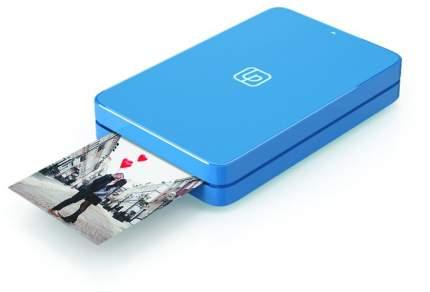 Компактный фотопринтер LifePrint (2х3), с функцией мгновенной печати, синий