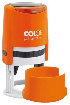 Оснастка автоматическая для печати Colop Printer R40 оранжевый